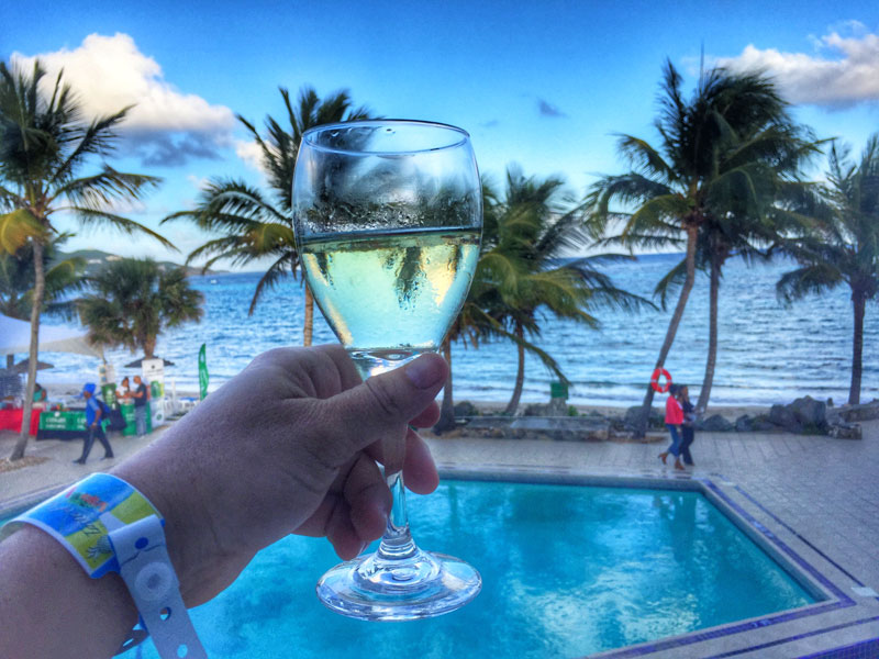 Taste of St. Croix - work trip