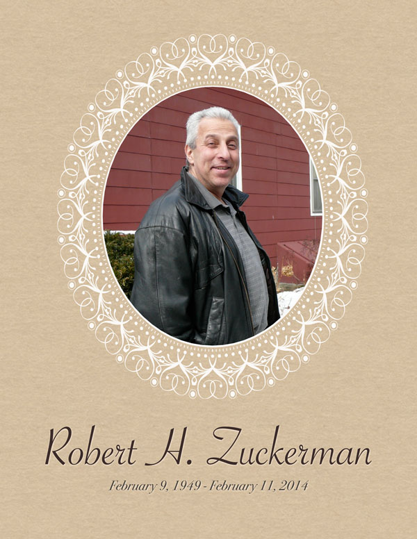 robert zuckerman obituary
