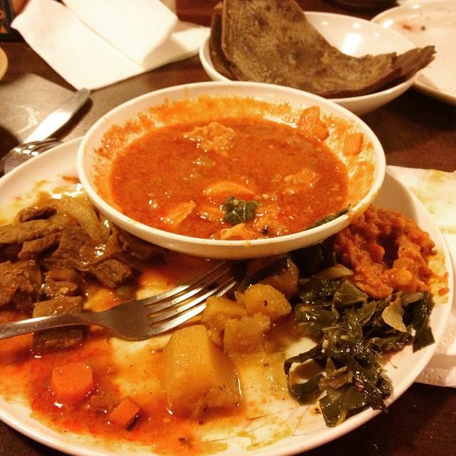 Ethiopian cuisine in Wisconsin