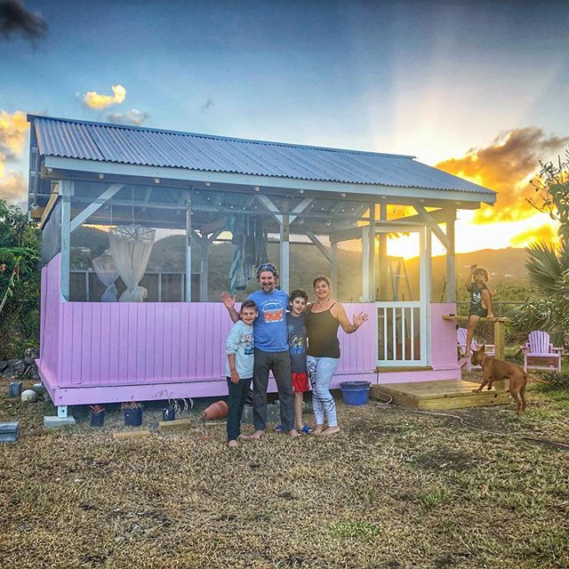 st croix cottage glamping