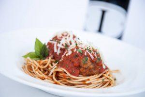 un amore st croix - spaghetti meatballs
