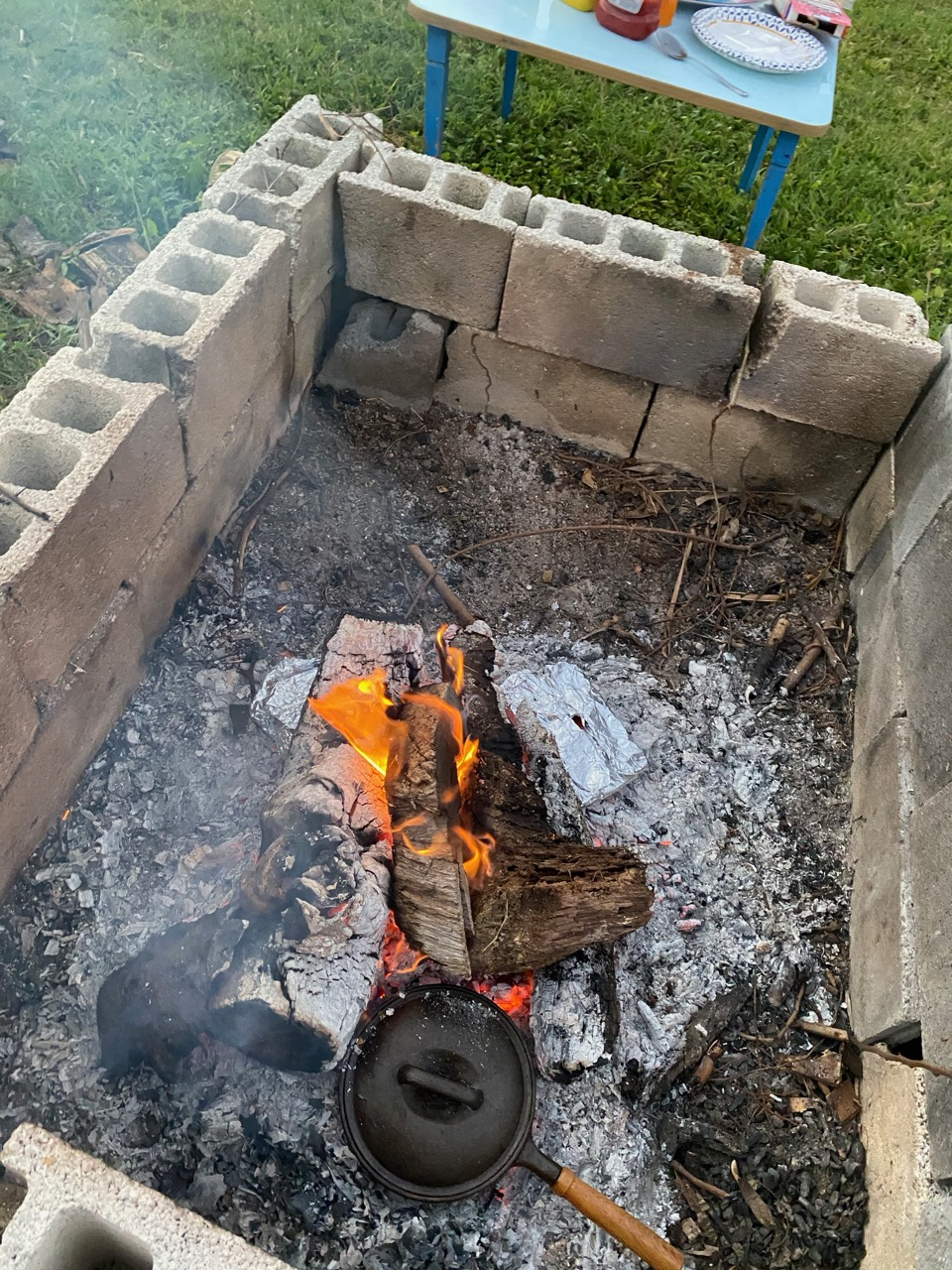cast iron skillet - webelo - cubscout
